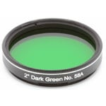 Explore Scientific filtro verde scuro #58A 2""