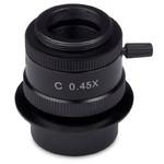 "Adaptateur appareil-photo Motic 0.45x, C-Mount, fokus, 1/3"""