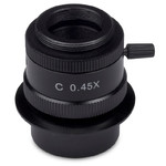Motic Camera adaptor 0.45x, C-Mount, fokus, 1/3""
