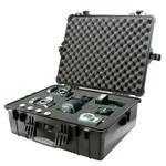 PELI Koffer Model 1600, silber