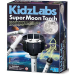 HCM Kinzel KidzLabs Księżycowa latarka kieszonkowa Super Moon Torch