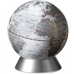 emform Globus Spardose Orion White 14cm