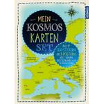 Kosmos Verlag Childrens map Karten Set 3 Poster mit Stickern