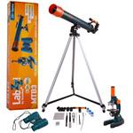 Levenhuk Juego de telescopio, microscopio y prismáticos LabZZ MTB3