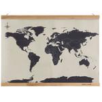 suck UK Mapa mundial Cross Stitch Map
