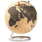 suck UK Mini-Globus Korkglobus (klein) zum Pinnen