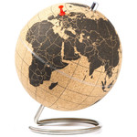 suck UK Mini-globo Cork globe 15cm for pinning
