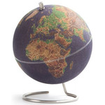 suck UK Mini-Globus Coloured Cork globe (Small) for pinning