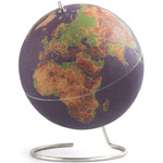 suck UK Globus Coloured cork globe 25cm for pinning
