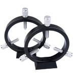 ASToptics Obejmy dla szukaczy CNC Guidescope Rings 102mm w/Raiser blocks
