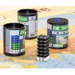 Bacher Verlag Neoballs Magnetkugel-Set 54 Stück schwarz