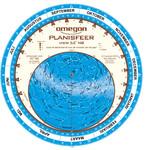Omegon Sterrenkaart Planisfeer 25cm / 52°