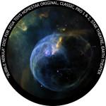 Redmark Dia für das Sega Homestar Planetarium Bubble Nebula