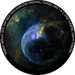 Redmark Disc for the Sega Homestar Planetarium - Bubble Nebula