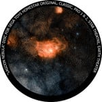 Redmark Disc for the Sega Homestar Planetarium - Lagoon Nebula