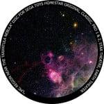 Redmark Dia für das Sega Homestar Pro Planetarium Tarantelnebel