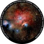 Redmark Diapositiva para planetario Homestar de Sega: formación estelar