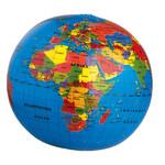 HCM Kinzel Aufblasbarer Globus Die Welt 30cm