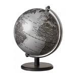emform Mini globe Gagarin Matt Silver 13cm