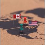 Benutze die zwei verschieden farbigen Pins um deine besuchten oder zukünftigen Reiseziele zu markieren.