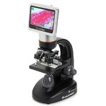 Celestron Microscopio TetraView, Touch Screen, 40-400x
