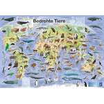 Planet Poster Editions Poster Bedrohte Tiere