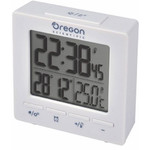 Oregon Scientific Estación meteorológica inalámbrica RC Alarm clock with temperature white