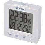 Oregon Scientific Radiowa stacja metereologiczna RC Alarm clock with temperature white