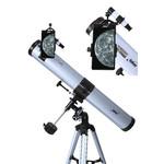 Seben Telescópio 900-76 EQ2 Reflector Telescope Smartphone Camera Adapter Holder Mount DKA5