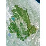 Planet Observer regiokaart Umbrië
