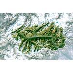 Planet Observer Harta regionala regiunea Valle D' Aosta