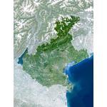 Planet Observer Harta regionala regiunea Veneto