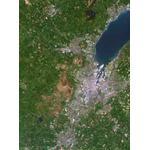 Carte régionale Planet Observer Planète Observer Italie région de Belfast