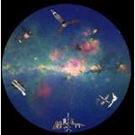 astrial Diapositiva para planetario Homestar de Sega: Space Exploration