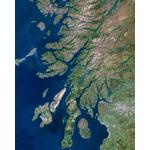 Planet Observer Regional-Karte Region Oban & West Coast