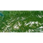 Planet Observer Mapa regional Região Tirol