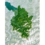 Planet Observer Mapa de : la región de Vorarlberg