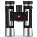 Leica Binocolo Ultravid 10x25 leather, silver