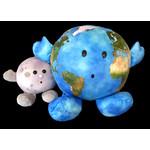 Our Precious Planet ist etwas größer als z. B. der Mond-Buddie.