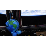Celestial Buddies' Earth is still flying high above the home planet, orbiting it every 92 minutes in the ISS!