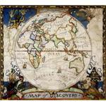 National Geographic Mapa de descobridor - Hemisfério oriental