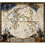 National Geographic Weltkarte Entdeckerkarte - Östliche Hemisphäre