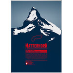 Marmota Maps Poster Matterhorn