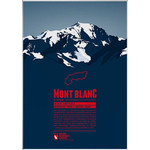 Marmota Maps Poster Mont Blanc