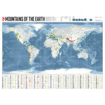 Mappemonde Marmota Maps Mountains of the Earth