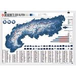 Marmota Maps Harta regionala Map of the Alps with 630 Ski Resorts