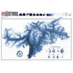 Marmota Maps Regional-Karte Südtirol Ski Blue