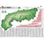 Marmota Maps Regional-Karte Alpenkarte 1001 Berge und 20 Wanderwege
