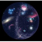 Sega Toys Diapositiva para planetario Sega Homestar Pro, galaxias