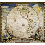 National Geographic Mappa dell'esploratore - Emisfero occidentale